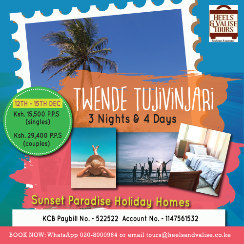 12TH- 15TH DEC, JAMHURI Holiday at the Coast